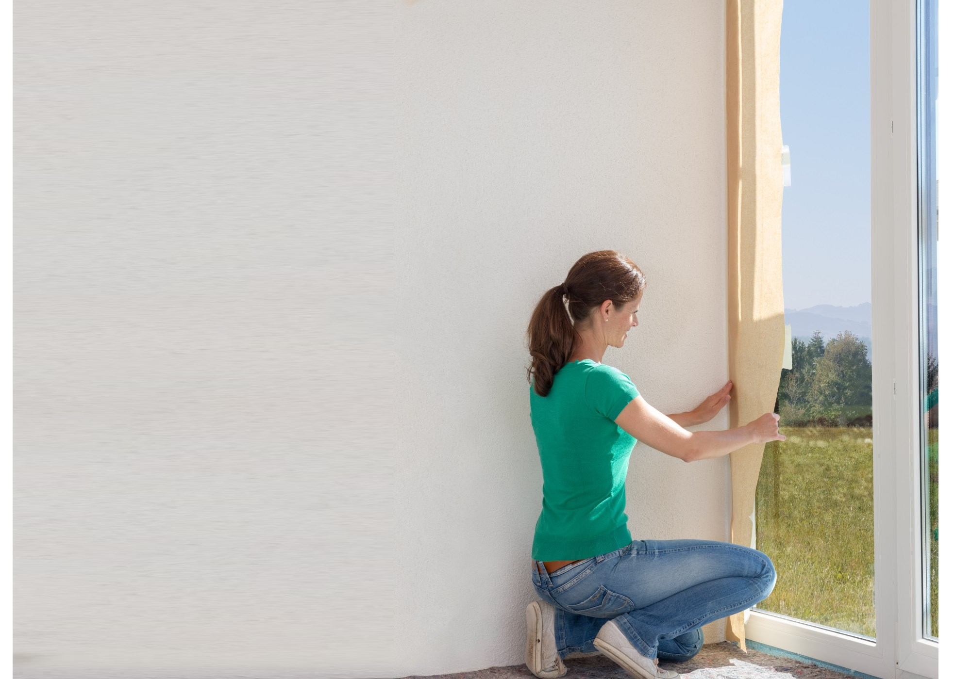 Poradnik - malowanie ścian - przygotowanie powierzchni