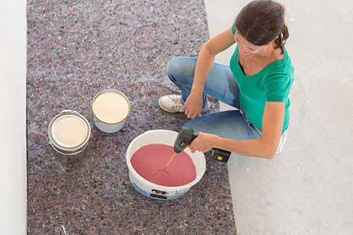 Poradnik - malowanie ścian - przygotowanie farby